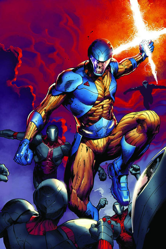 X-O Manowar #9 (Hairsine Cover)