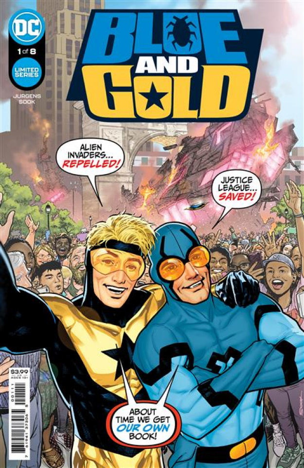 Blue and Gold #1 (Ryan Sook Cover)