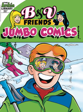 B & V Friends Jumbo Comics Digest #267