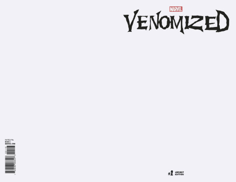 Venomized #1 (Blank Cover)