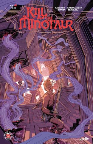Kill the Minotaur #4 (Lorenzo De Felici Cover)