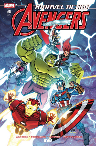 Marvel Action: Avengers #4 (10 Copy Thomas Cover)