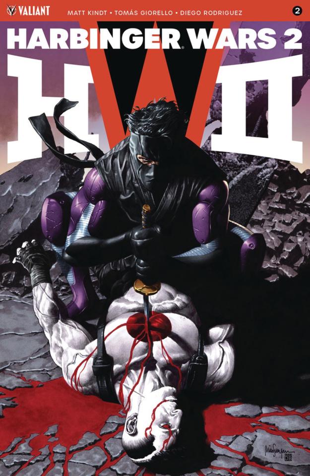 Harbinger Wars 2 #2 (Suayan Cover)
