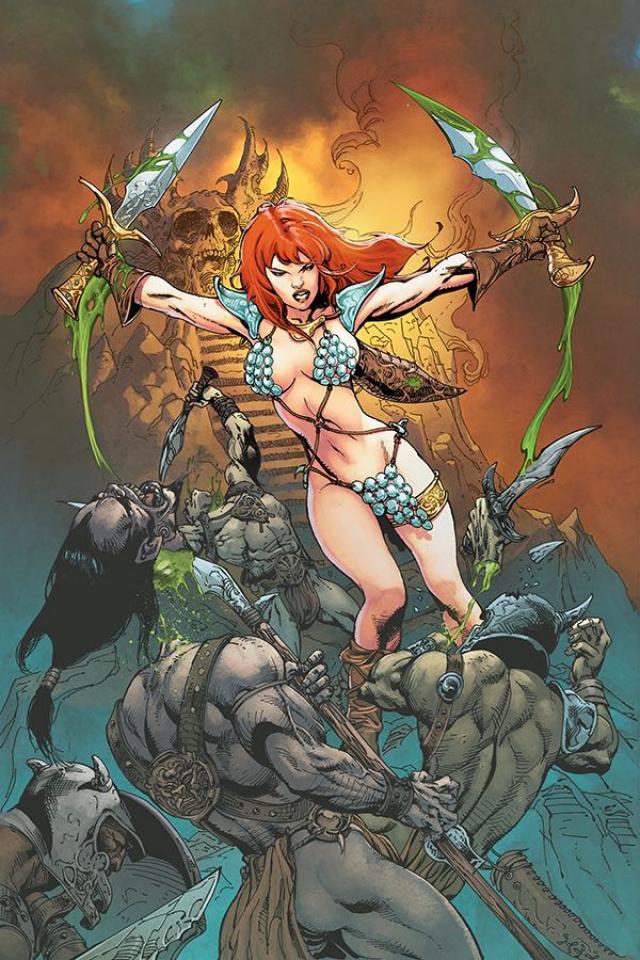 Red Sonja #7 (25 Copy Castro Virgin Cover)