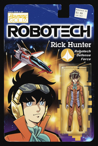 Robotech #1 (Shedd Action Figure Cover)