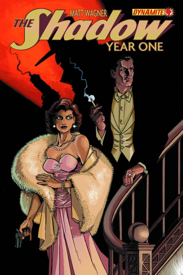 The Shadow: Year One #4 (Wagner Cover)