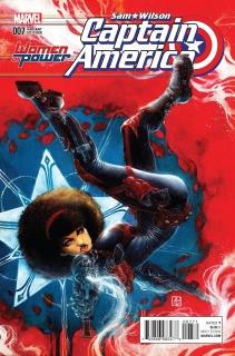 Captain America: Sam Wilson #7 (Chang WOP Cover)