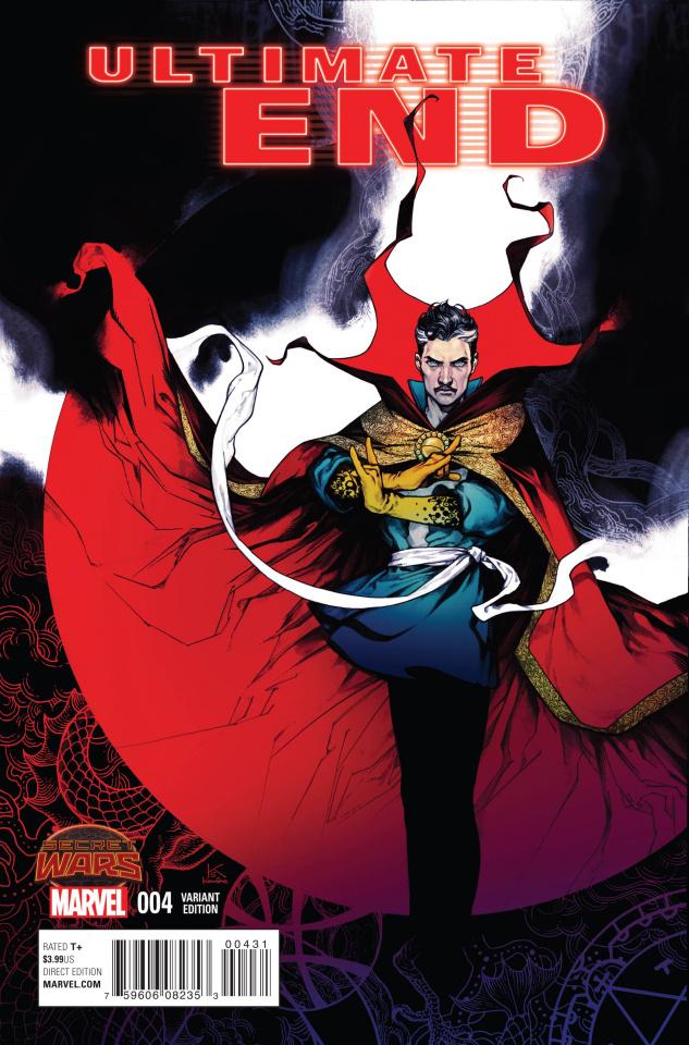 Ultimate End #4 (Shirahama Manga Cover)