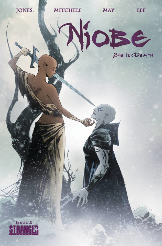 Niobe: She Is Death #2 (Jae Lee Cover)