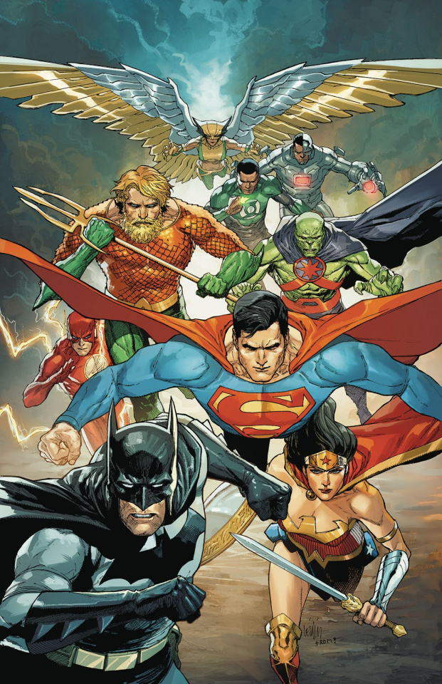 Justice League #22 (Variant Cover)