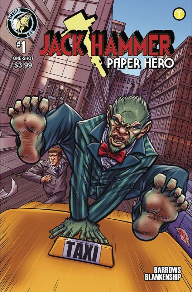 Jack Hammer: Paper Hero