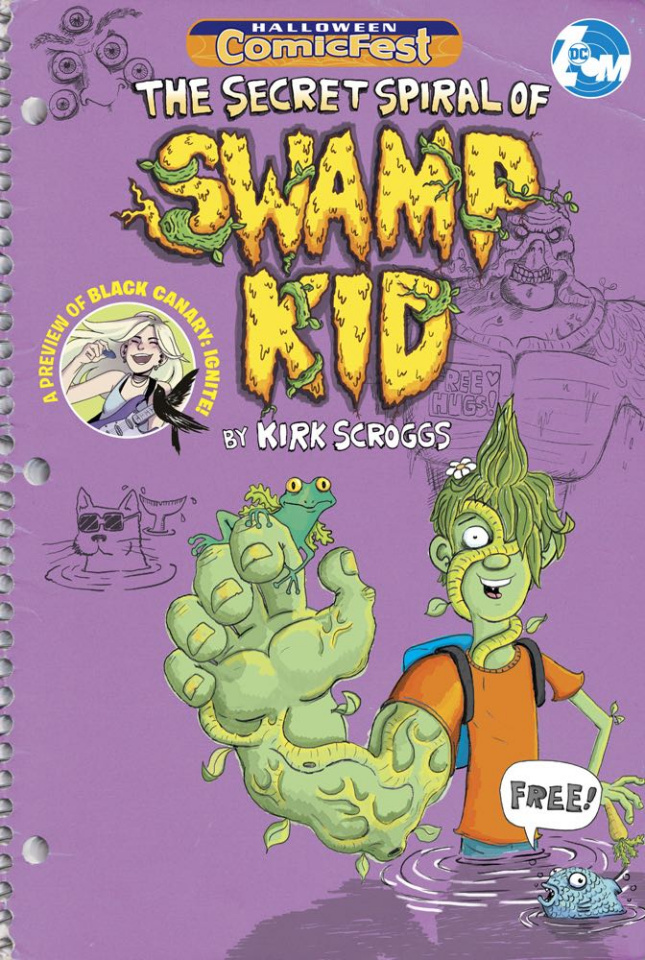 The Secret Spiral of Swamp Kid (Halloween Comic Fest)