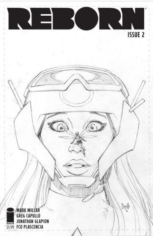 Reborn #2 (100 Copy Capullo Sketch Cover)