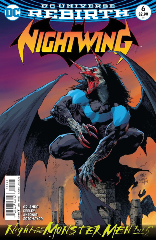 Nightwing #6 (Monster Men Cover)