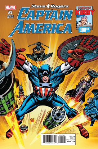 Captain America: Steve Rogers #9 (Kirby 100th Anniversary Cover)