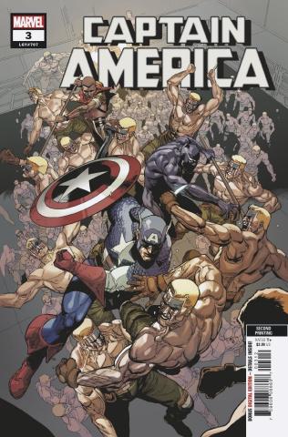 Captain America #3 (Yu 2nd Printing)