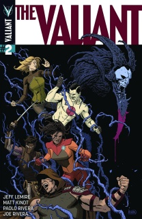 The Valiant #2 (2nd Printing)
