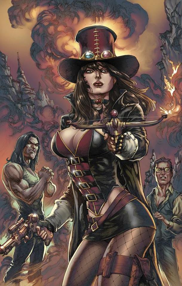 Grimm Fairy Tales: Van Helsing vs. Dracula #5 (Buzz Cover)