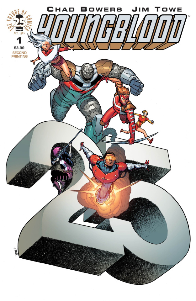 Youngblood #1 (2nd Printing)