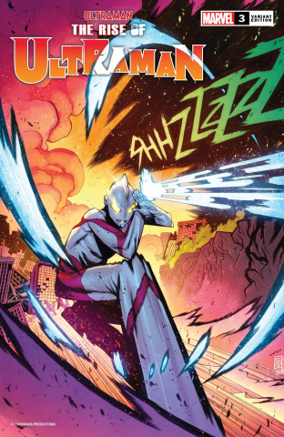The Rise of Ultraman #3 (Jacinto Cover)