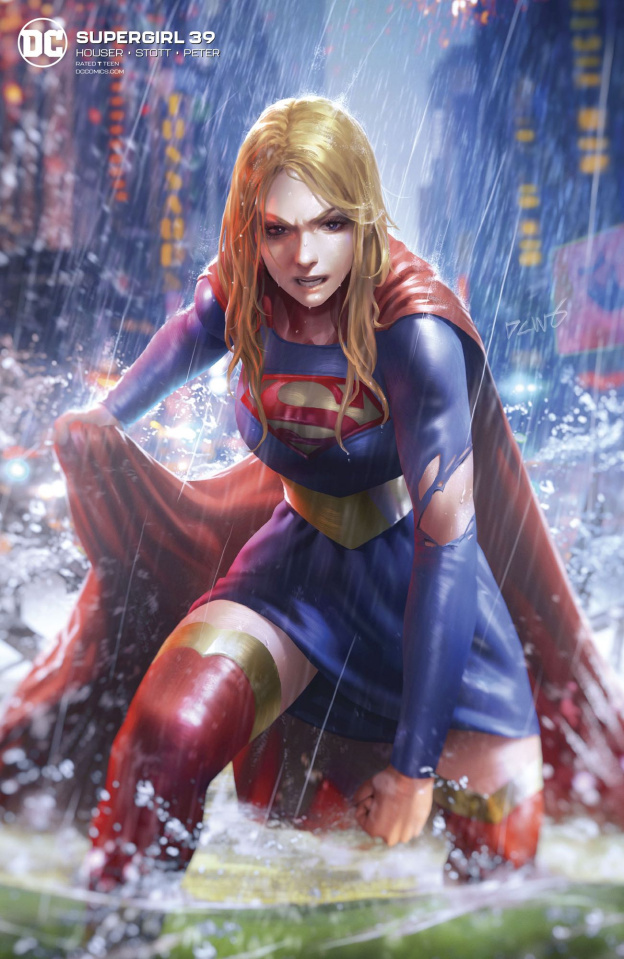 Supergirl #39 (Card Stock Derrick Chew Cover)