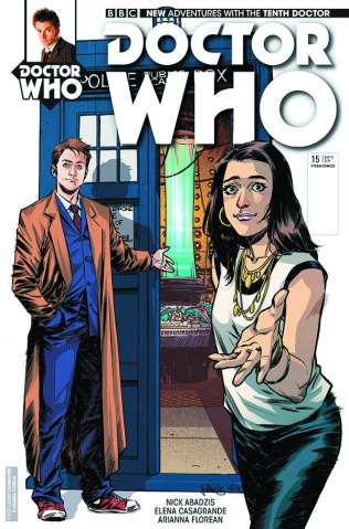Doctor Who: New Adventures with the Tenth Doctor #15 (Casagrande Cover)