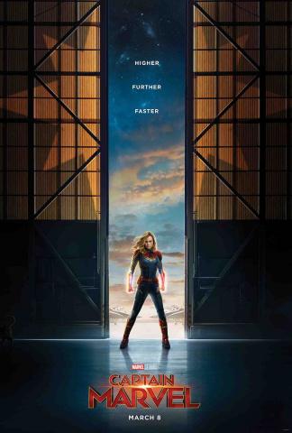 Captain Marvel #1 (Movie Cover)