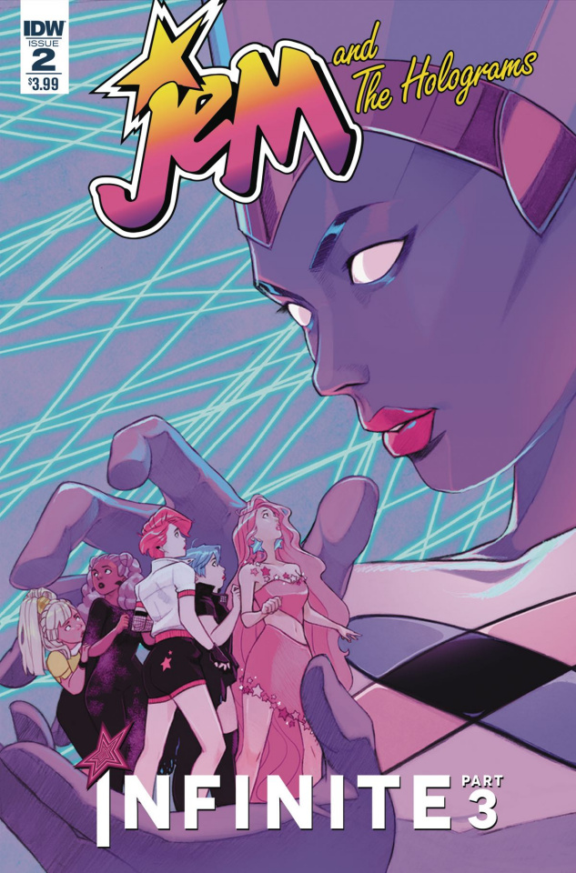 Jem and The Holograms: Infinite #2 (Lee Cover)
