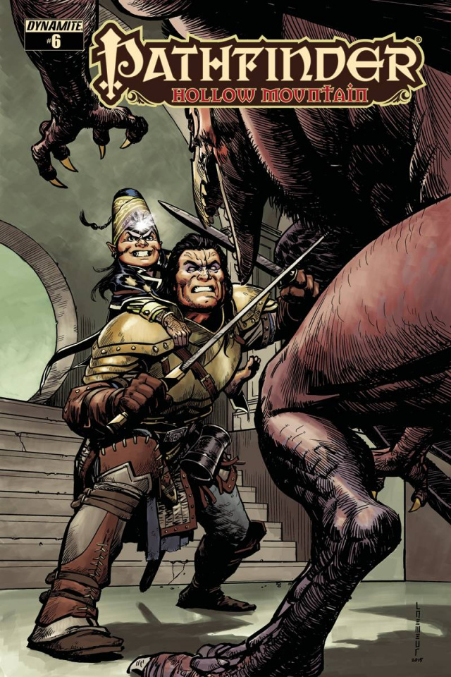 Pathfinder: Hollow Mountain #6 (Ultra Limited Edition)