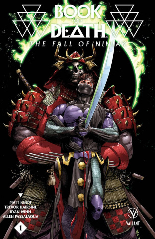 Book of Death: The Fall of Ninjak #1 (Mann Cover)