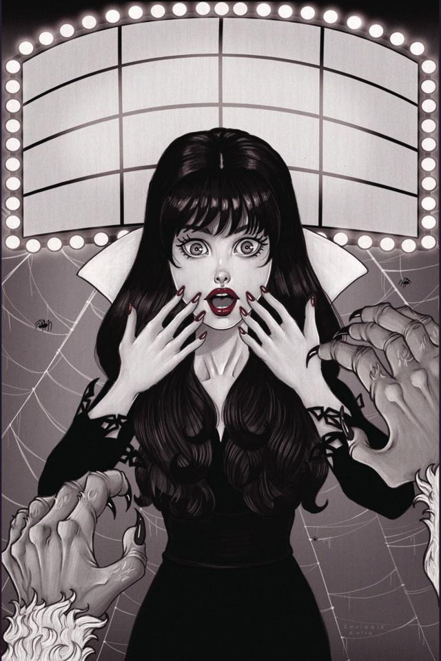 Vampirella #6 (10 Copy B&W Cover)