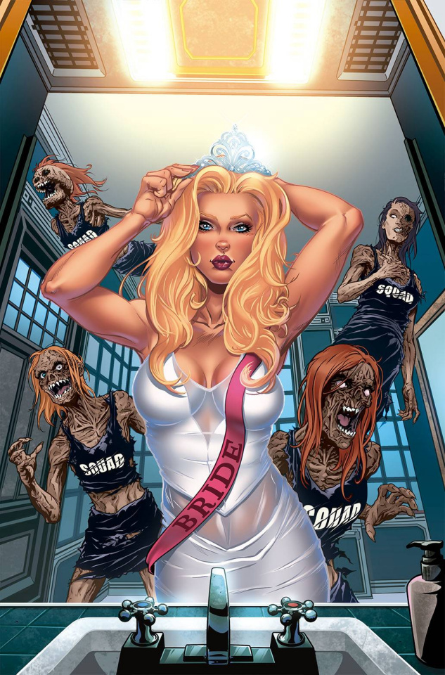 Tales of Terror Quarterly: Bachelorette Party (Riveiro Cover)