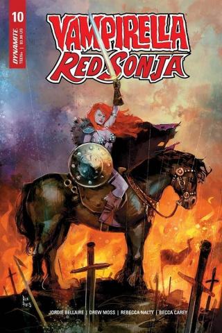 Vampirella / Red Sonja #10 (Reis Cover)