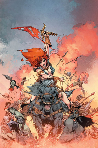 Red Sonja #10 (11 Copy Castro Virgin Cover)