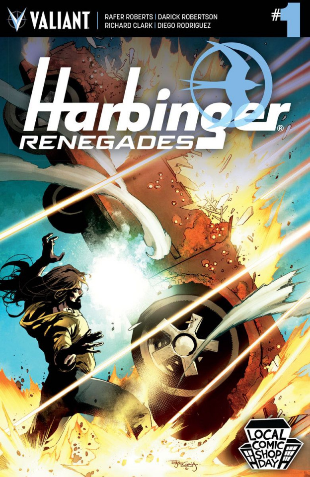 Harbinger: Renegade #1 (Segovia Local Comic Shop Day Cover)