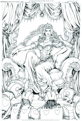 Grimm Fairy Tales: Wonderland - Through the Looking Glass #3 (Malsuni Cover)