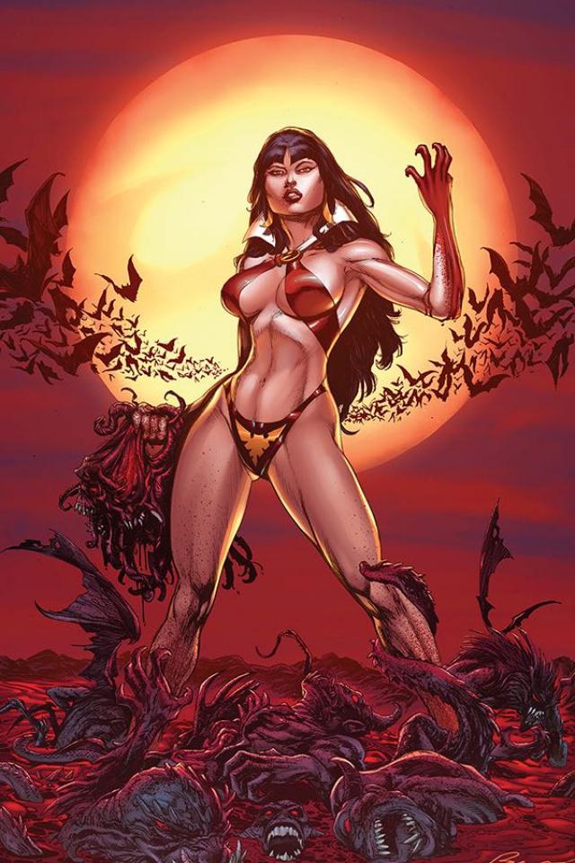 Vengeance of Vampirella #1 (11 Copy Buzz Blood Moon Virgin Cover)