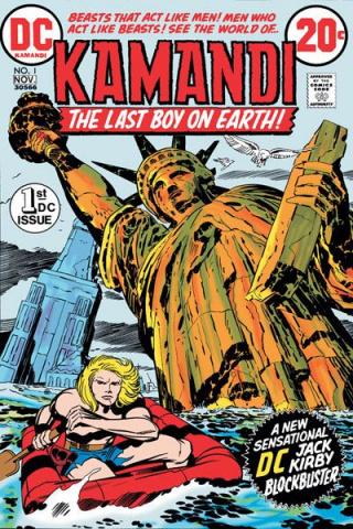 Kamandi Omnibus Vol. 1: The Last Boy On Earth