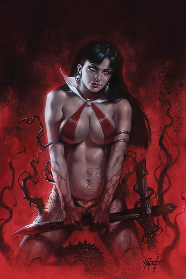 Vengeance of Vampirella #9 (Parrillo Virgin Cover)