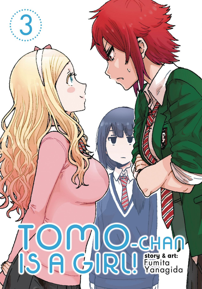 Tomo Chan is a Girl Vol. 3