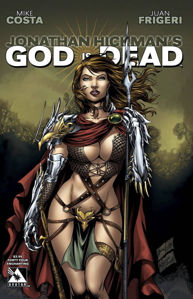 God Is Dead #44 (Enchanting Cover)