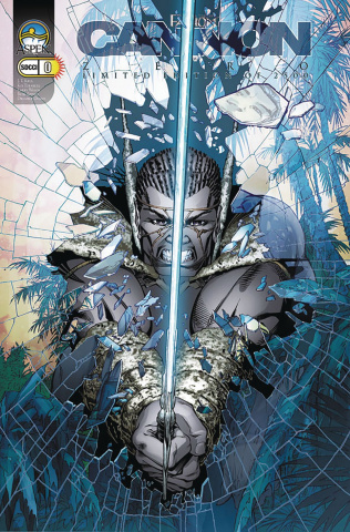 Fathom: Cannon Hawke #0 (SDCC 2005 Cover)