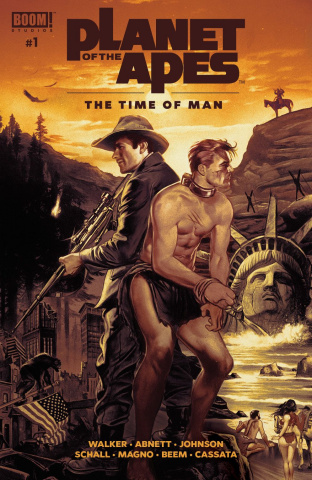Planet of the Apes: Time of Man #1