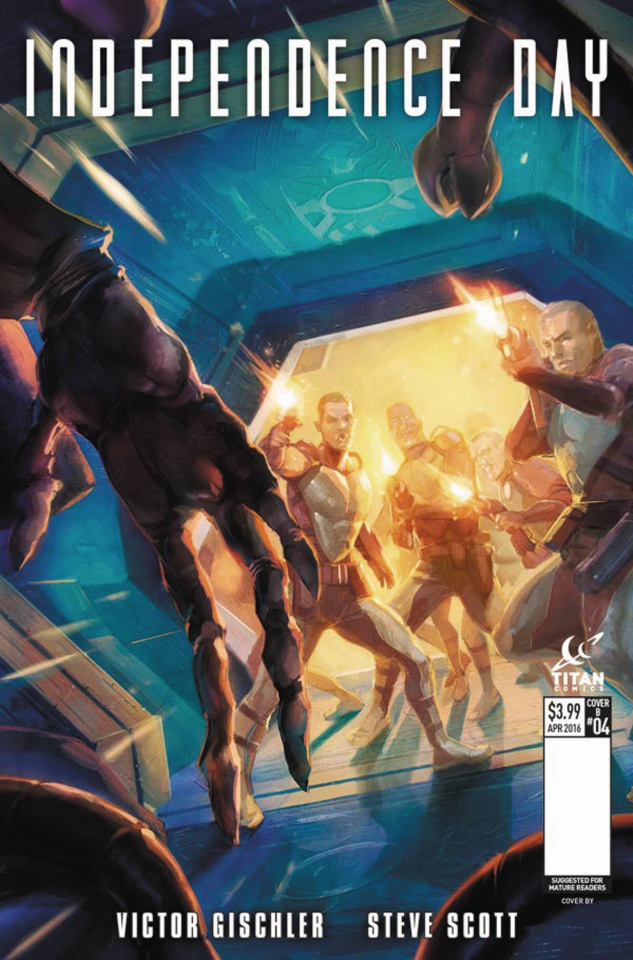 Independence Day #4 (Xermancio Cover)