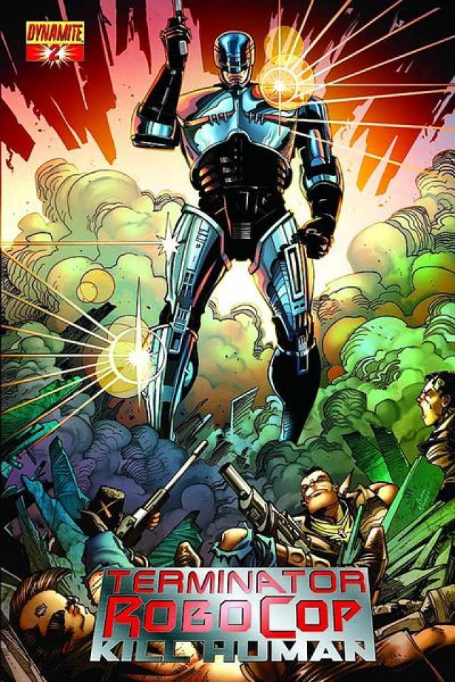 Terminator/RoboCop: Kill Human #2