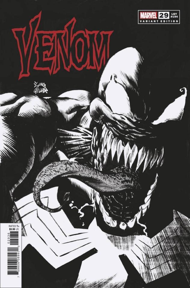 Venom #29 (Stegman Sketch Cover)