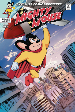 Mighty Mouse #3 (Lima Cover)
