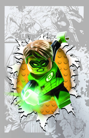 Green Lantern #36 (Lego Cover)