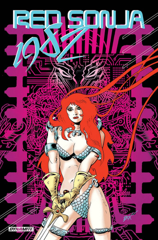 Red Sonja: 1982 (Broxton Cover)