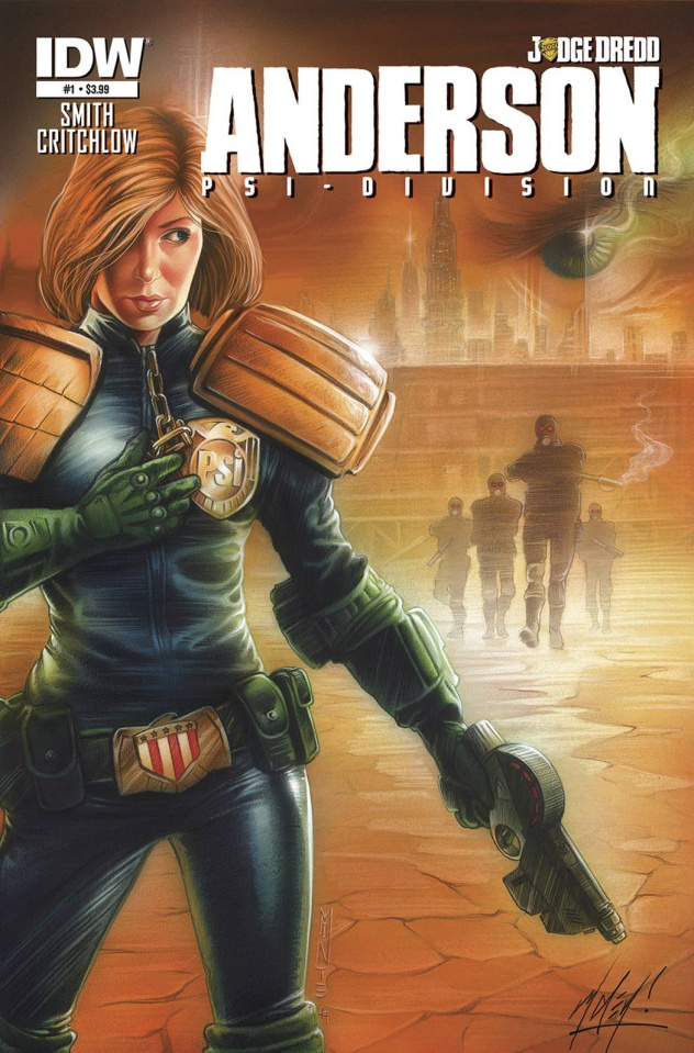 Judge Dredd: Anderson - Psi-Division #1